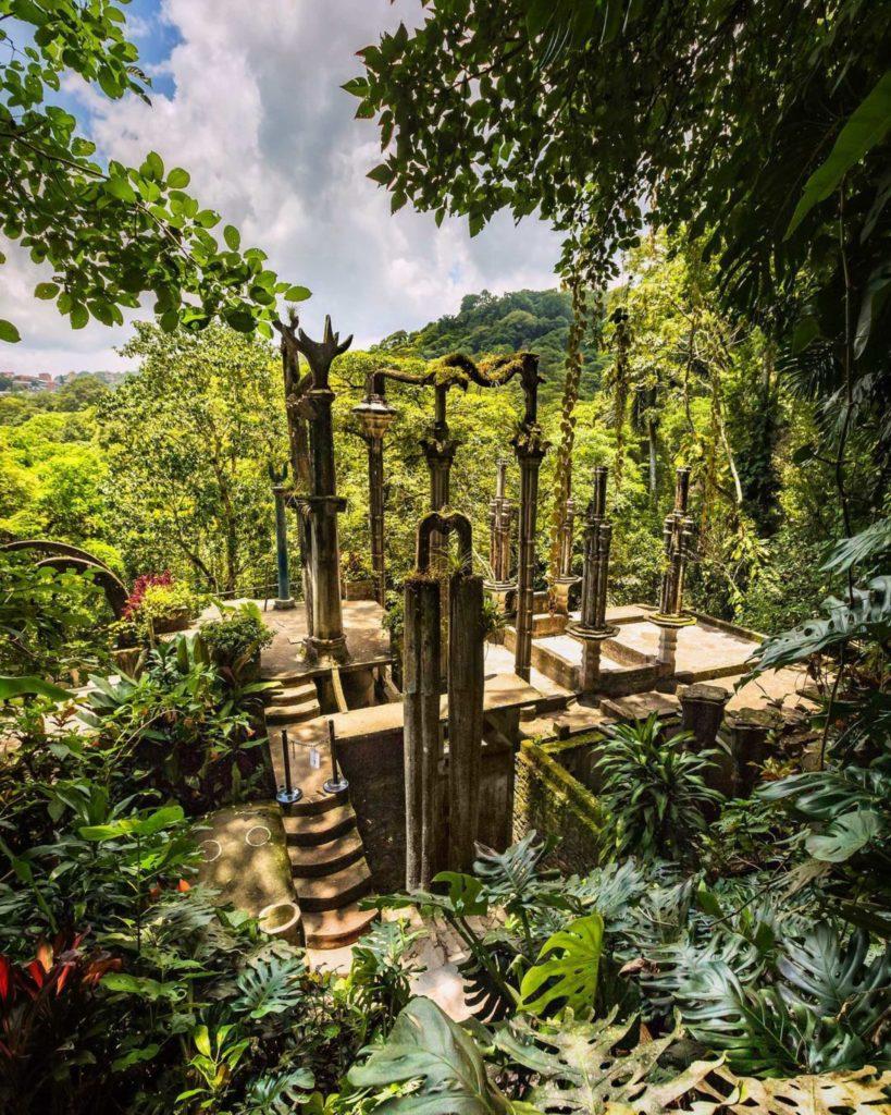 Edward James Structure Garden