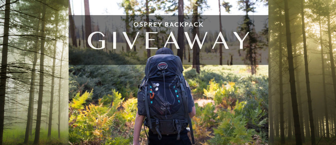 instagram giveaway osprey backpack