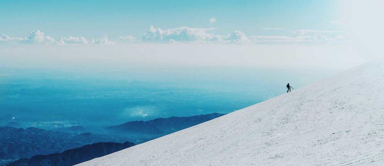 High altitude trekking in Mexico