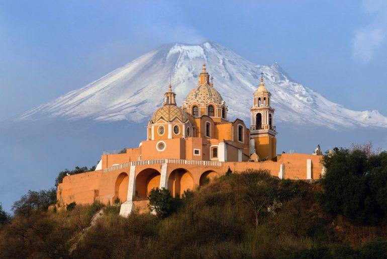 Stratovolcano Popocatépetl