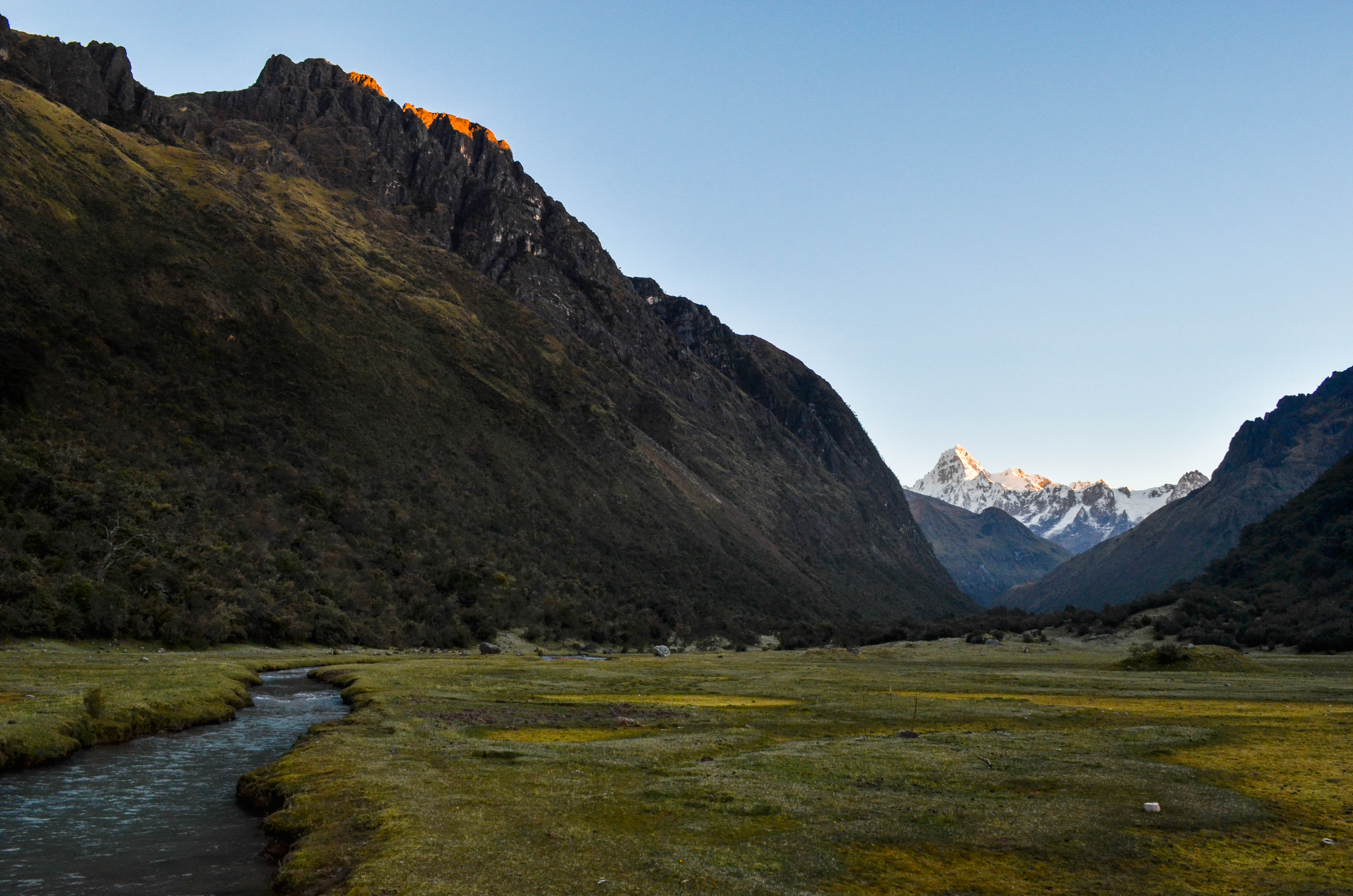 Cordillera Blanca in Peru